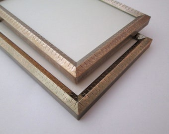 Frame Set, Vintage, 5x7 frame, pair of frames, wedding table numbers, Frame 5x7, Gold Metal Picture Frame, wedding frame, 5x7 picture frame