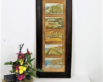 Vintage Blackpool Postcards/1940's Blackpool Picture Postcards/Framed Blackpool (Ref1988K)