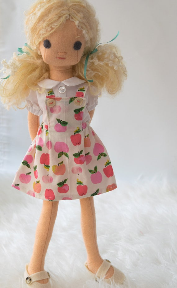 Natural Fiber  Rag Doll
