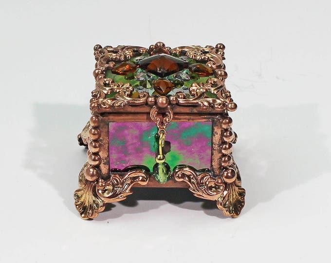 Jewel Encrusted Fairy Box