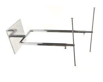 2-Tier Metal Jewelry T-Stand