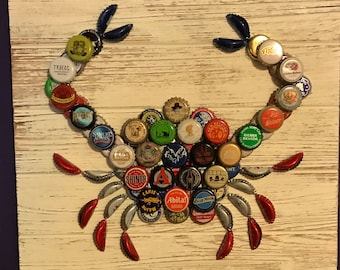 Craft Beer Cap Crab
