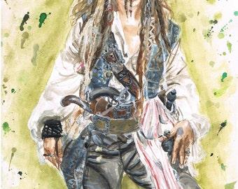 Jack Sparrow, Pirates of the Caribbean