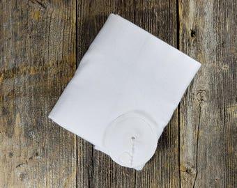 Gtube pads 37- White (G-Tube, G/J, Mic-Key, PEG, AMT, Bamboo)