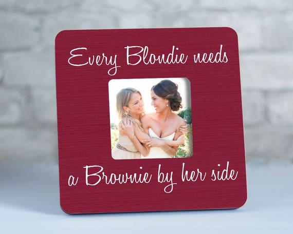 Blondie Brownie Best Friend Frames, Blondie and Brownie Gifts, Best ...