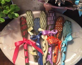 Lavender Wand Coral Lavender Bottle Lavender Bomb Organic Fragrant Homegrown Handmade