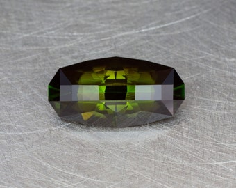 Dravite Tourmaline Loose Natural and Untreated Modern Elongated Oval or Marquis Faceted Gemstone
