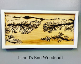 SOLD!! A River Runs Through It...By: Island's End Woodcraft