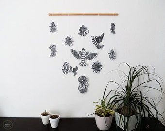 Otomi paper mobile