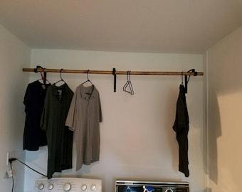 Clothes Hanger Support Braces