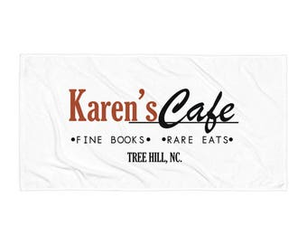 Karen's Cafe Towel