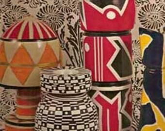 1968 Crafts of the Modern World book Slivka MID CENTURY MODERN art