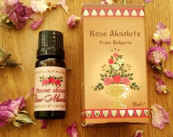 100% True & Pure Rose absolute from Bulgarian Rosa Damascene, 10ml / 0.3oz