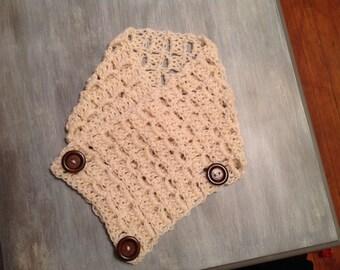 Miriam's crochet fall cowl