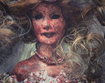 Lilith Demon Bride Doll OOAK