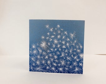 Starry Kitsch Holiday Card