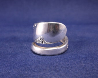 Spoon Ring-1950 Bridal Wreath-Spoon Jewelry size 7