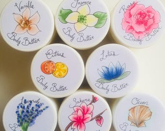 Whipped Body Butter - choose from 8 scents!