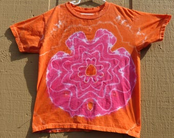 Youth Tie Dye Tee- Medium-(10-12)