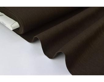 .X1m Brown linen fabric