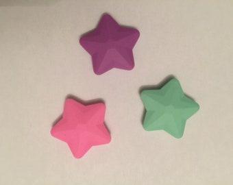 big star silicone bead