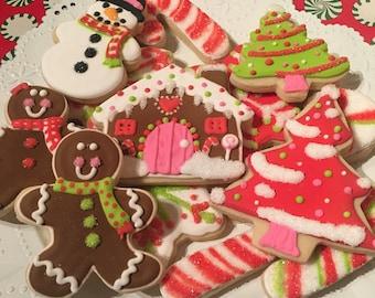 Custom Christmas Sugar Cookies