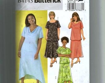 Butterick Women's Top and Skirt Pattern 4142