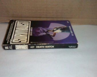 Survivalist 27 Death Watch by Jery Ahern Vintage action paperback!!