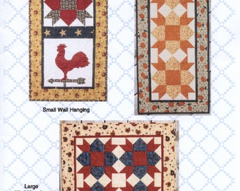 Weathervane - Pattern for Quilted Wall Hangings and Table Runner