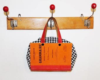 Little Bag Recycled Book, Upcycling Book Bag