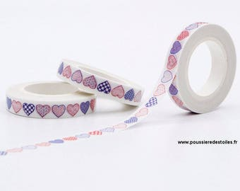 Washi tape heart 10 m