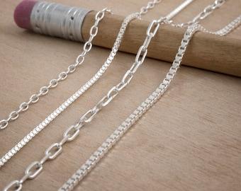 925 Sterling Silver Italian Chain