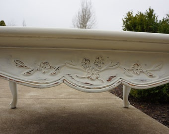 Shabby Cottage Chic Coffee Table by Drexel