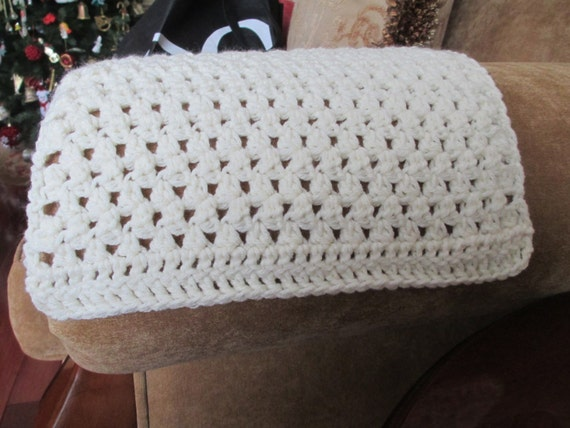 Set of 2 Crochet Arm Chair Covers