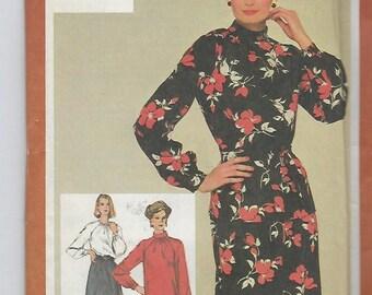 Simplicity 9756  Misses' Dress or Two Piece Dress Size 16  UNCUT