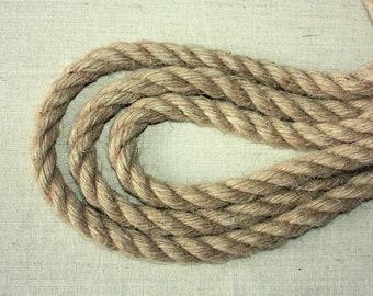 16 mm Jute Cord Natural = 11 Yards = 10 Meters Jute Rope Jute Cord Natural Fiber Rope Burlap String Cording Natural Jute Rope Wilde Treasure