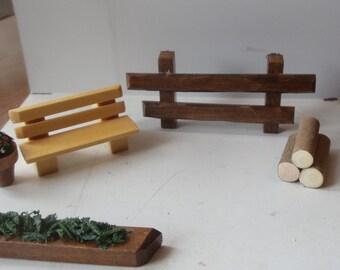 wooden scenery - figure replacement (cuckoo clock)