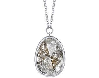 Portraiture Diamond Pendant