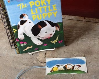 the poky little puppy notebook or journal or guest book