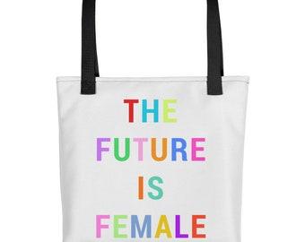The Future is Female Tote Bag - Feminist - Feminism