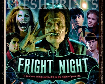 Fright Night Movie Poster print