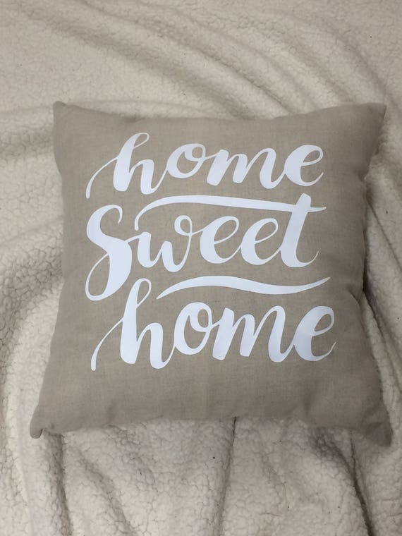 Home Sweet Home Throw PillowFarmhouse DecorCabin DecorThrow Inspiration Cabin Decor Throw Pillows