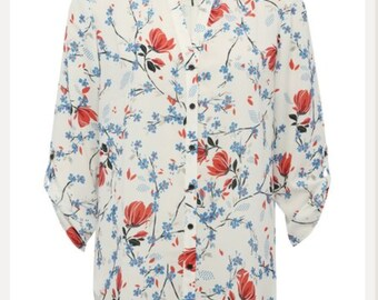 Floral casual shirt