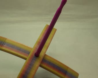 Large Multi Colored Turkish Spindle 3D Printed