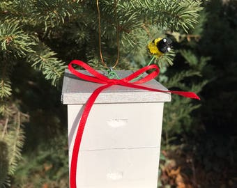 Langstroth Hive Ornament