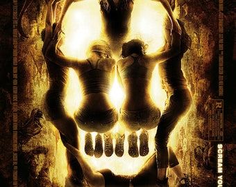 The Descent 2005 British Adventure Horror Film Movie Poster Print A3 A4
