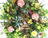 Daisy Wreath for Front Do...