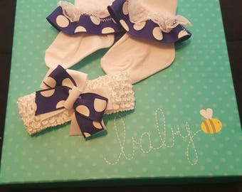 Sock and Headband Set
