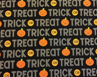 Trick or Treat Halloween fabric by Riley Blake