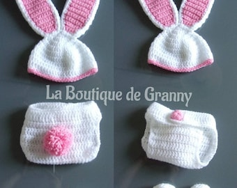 All 3 pieces baby Bunny ideal photo shoot!